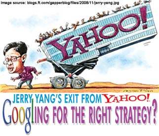 Jerry Yang's Exit from Yahoo!: Googling for the Right Strategy?